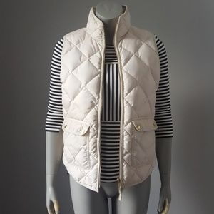 J. Crew Excursion Quilted Down Vest B0109 Small